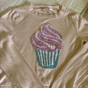 Like new cupcake sweater size small